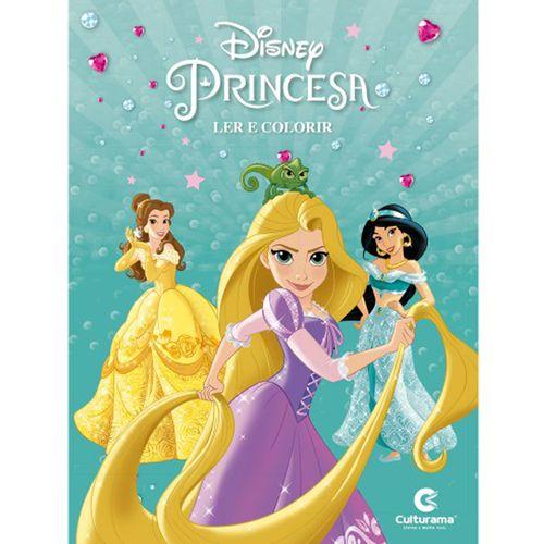 disney-princesa---ler-e-colorir