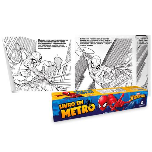 Livro-Em-Metro-Homem-Aranha