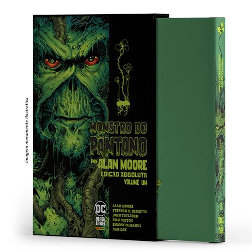 Monstro-do-Pantano-Por-Alan-Moore-Vol.01
